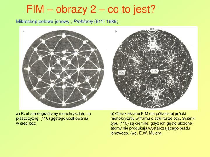 FIM – obrazy 2 – co to jest?