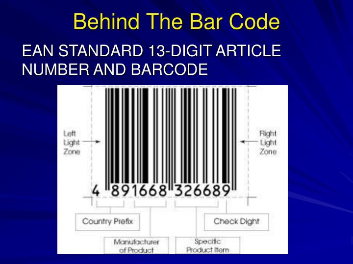 Behind The Bar Code