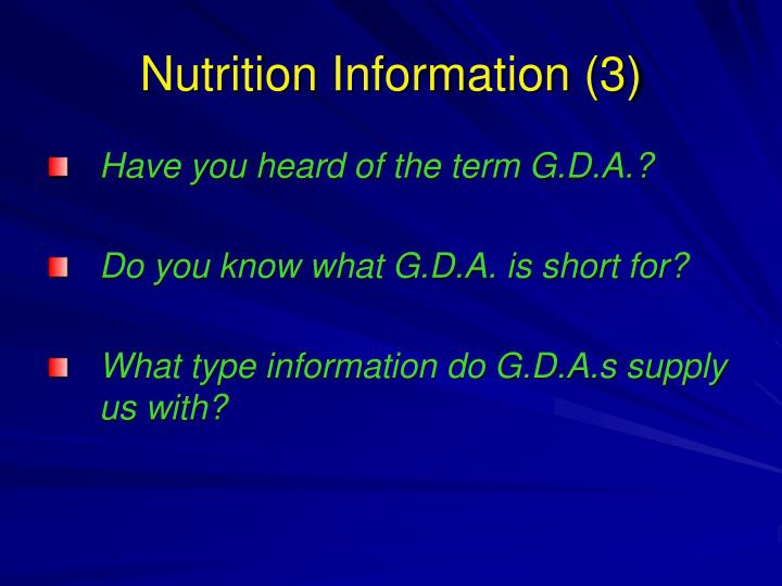 Nutrition Information (3)