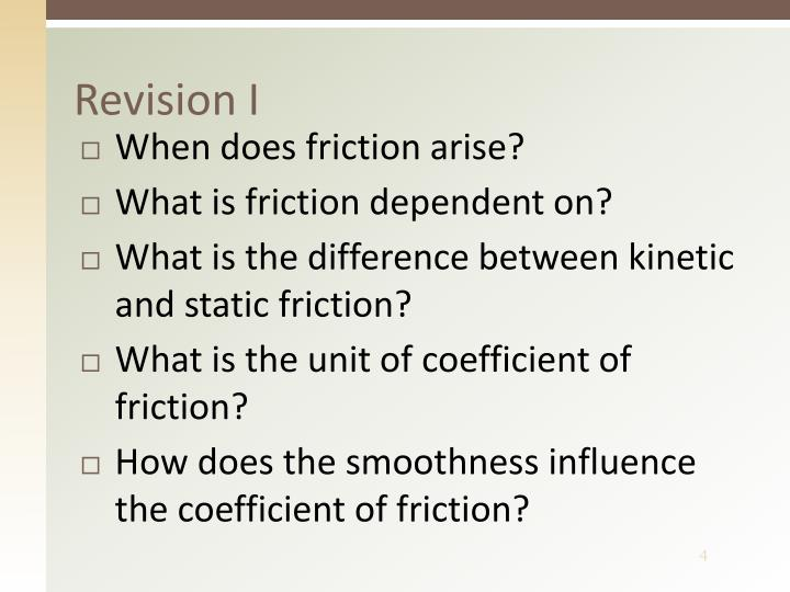Revision I