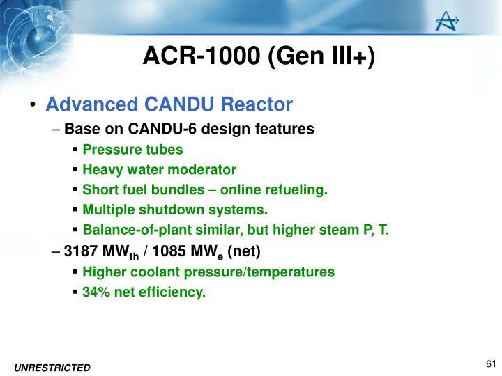 ACR-1000 (Gen III+)