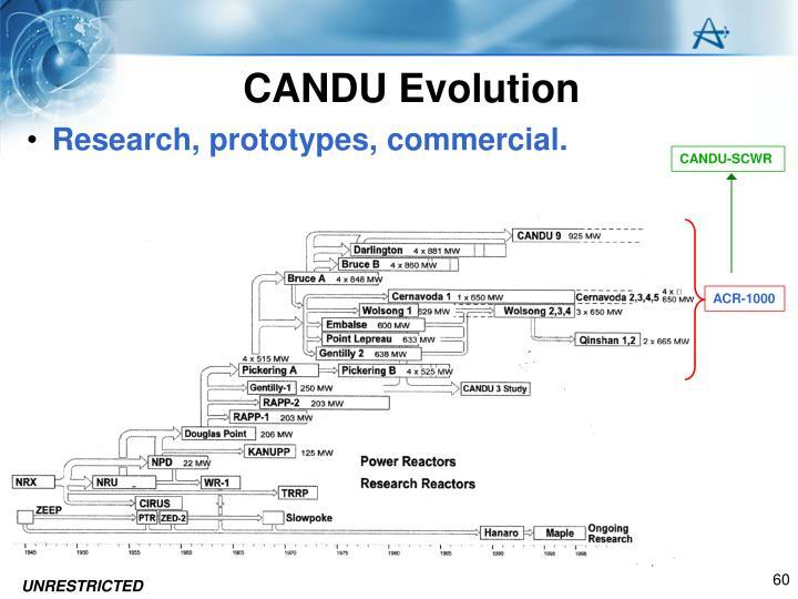 CANDU Evolution