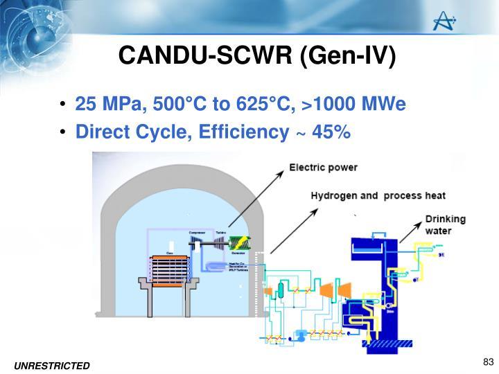 CANDU-SCWR (Gen-IV)