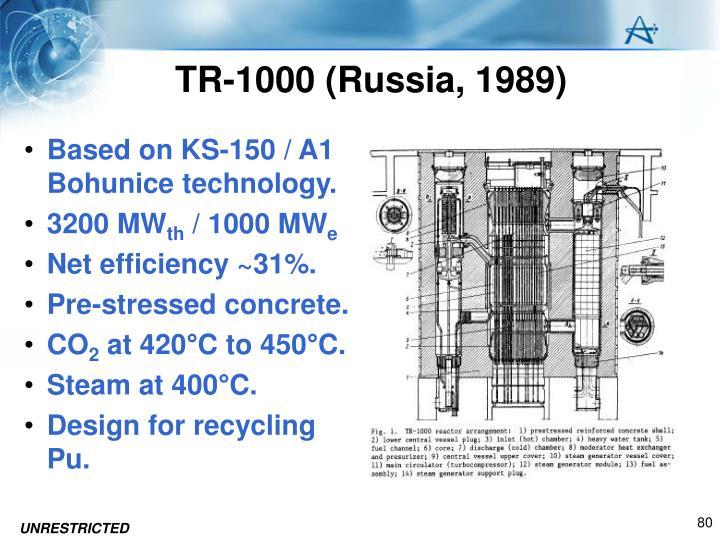 TR-1000 (Russia, 1989)