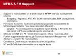 mfma fm support