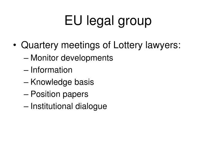 EU legal group