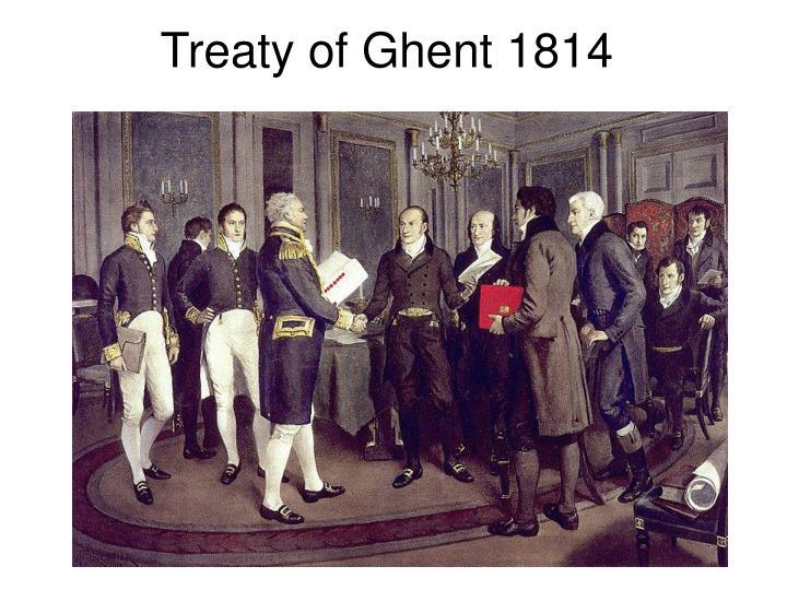 Treaty of Ghent 1814