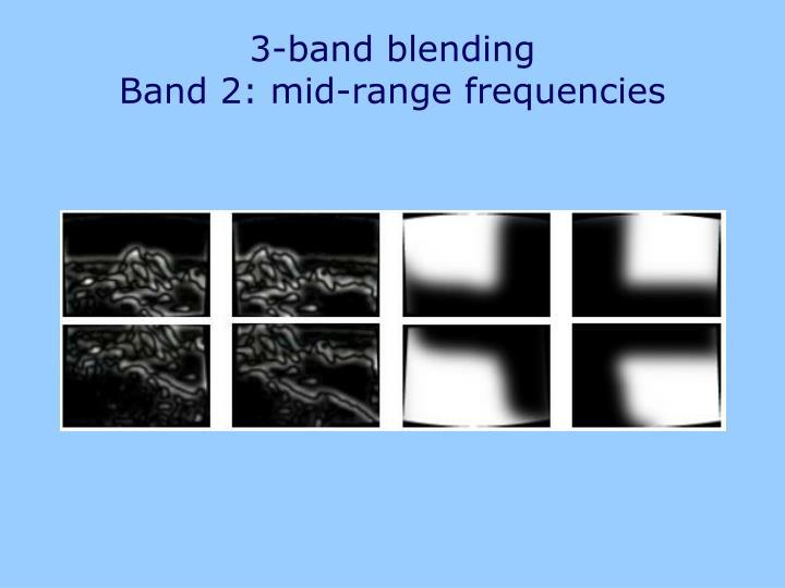 3-band blending
