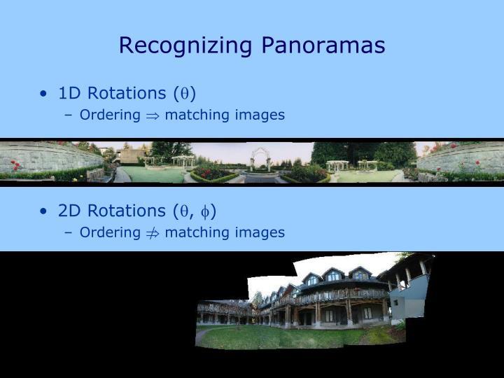 2D Rotations (