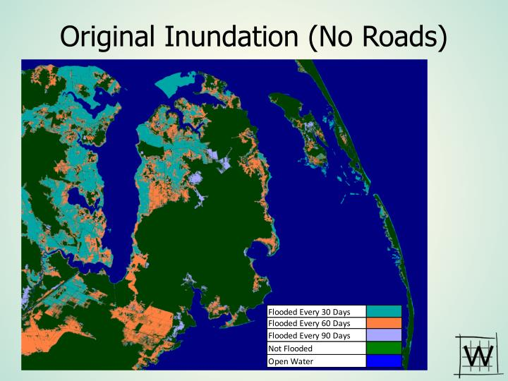 Original Inundation (No Roads)
