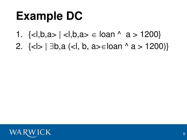 Example DC