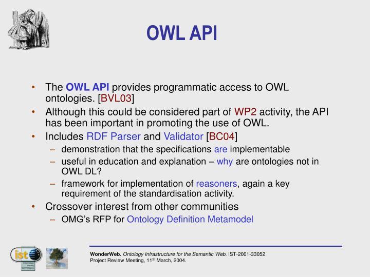 OWL API
