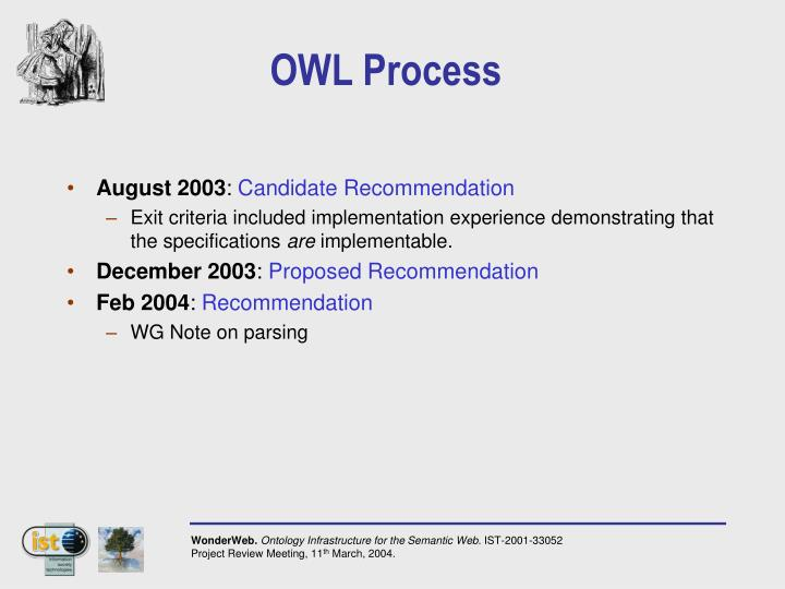 OWL Process