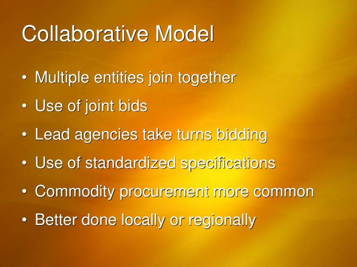 Collaborative Model
