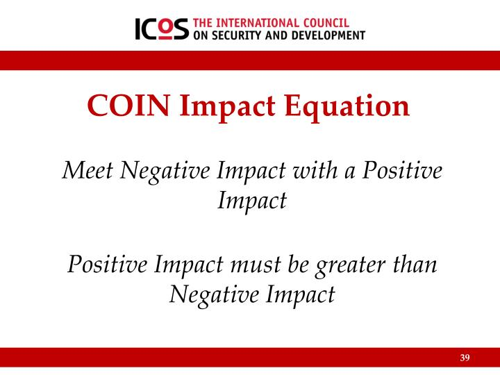 COIN Impact Equation