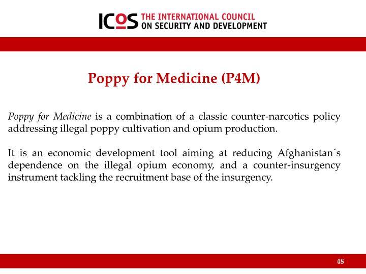 Poppy for Medicine (P4M)