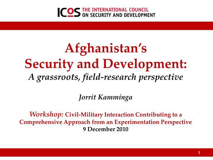 Afghanistan's