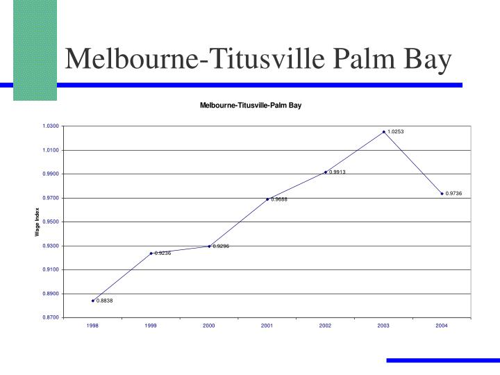 Melbourne-Titusville Palm Bay