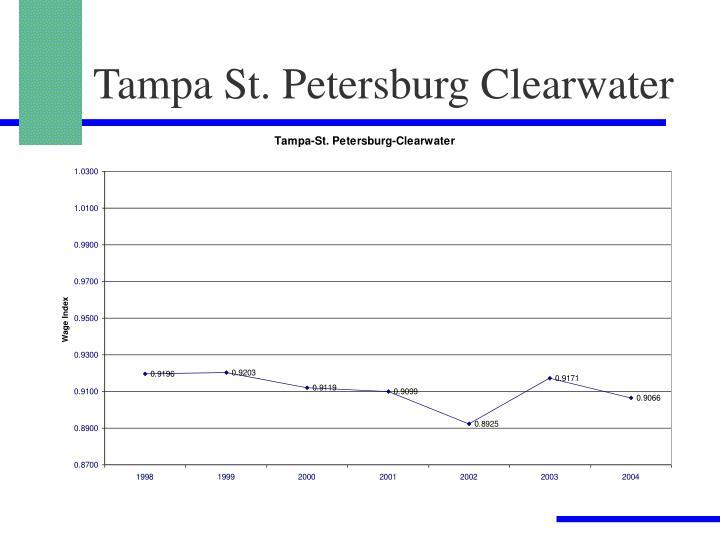 Tampa St. Petersburg Clearwater