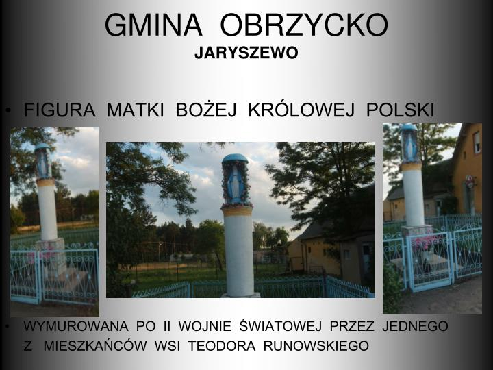 GMINA  OBRZYCKO