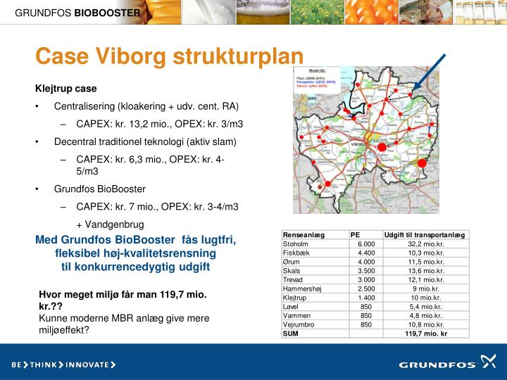 Case Viborg strukturplan