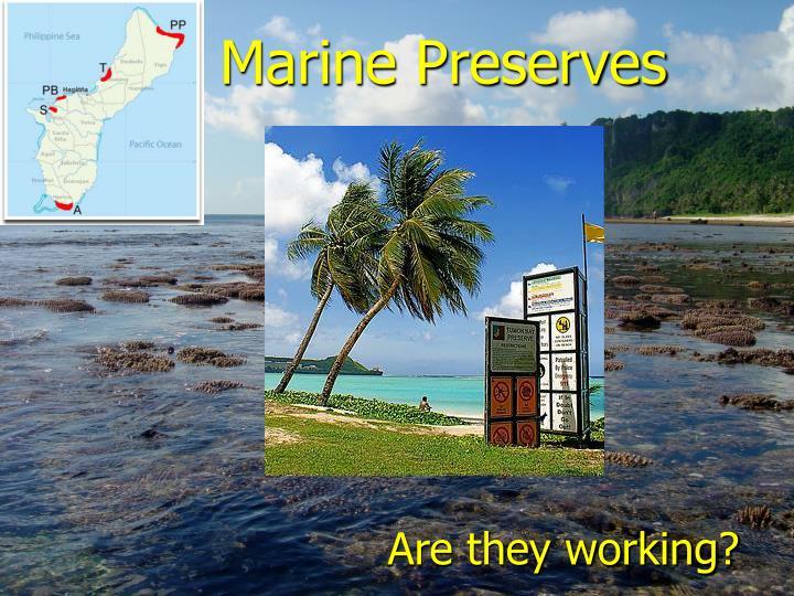 Marine Preserves