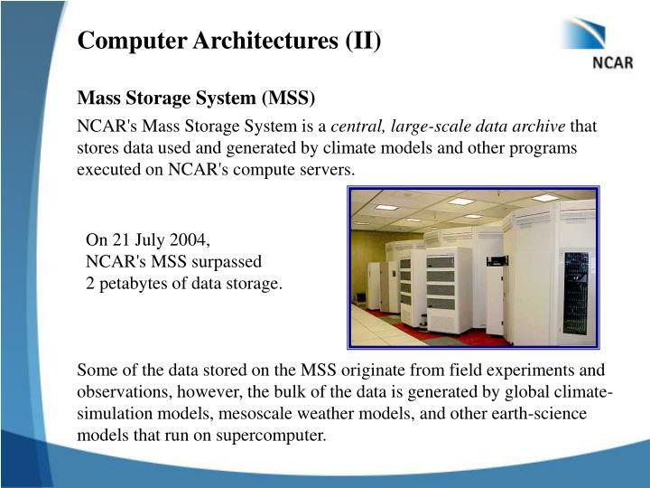 Computer Architectures (II)