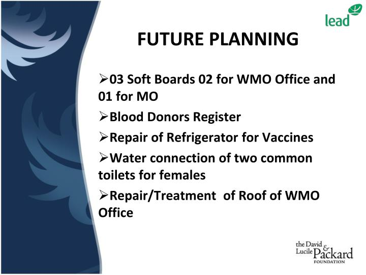 03 Soft Boards 02 for WMO Office and 01 for MO