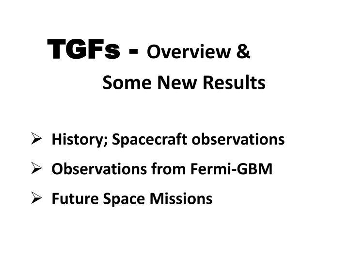 TGFs -