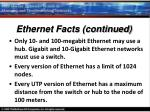 ethernet facts continued