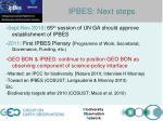 busan outcome functions of ipbes2