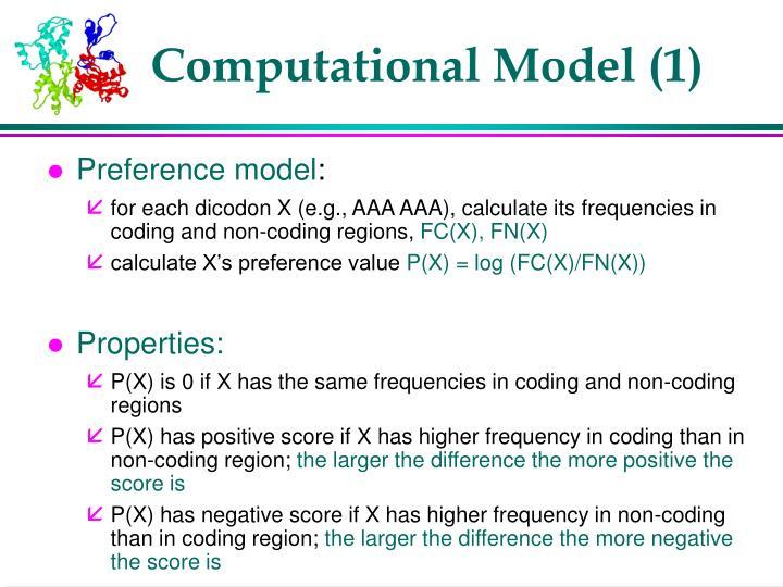 Computational Model (1)