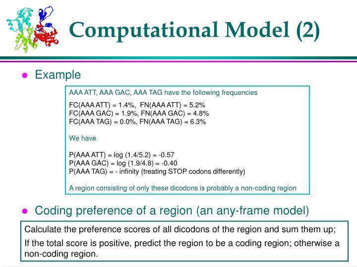 Computational Model (2)