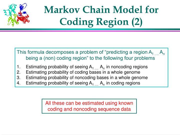 Markov Chain Model for