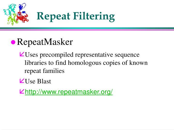 Repeat Filtering