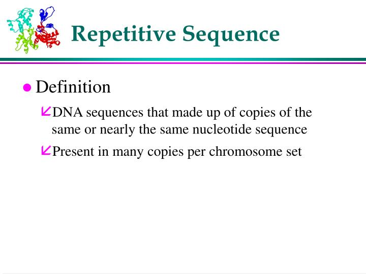 Repetitive Sequence