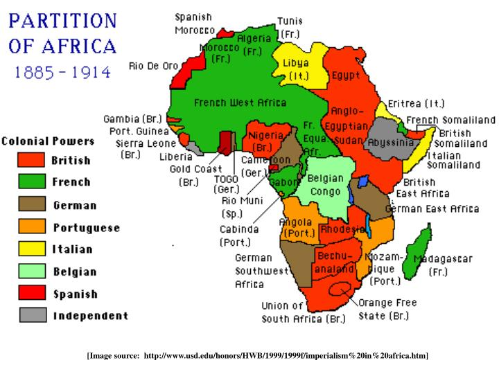 [Image source:  http://www.usd.edu/honors/HWB/1999/1999f/imperialism%20in%20africa.htm]