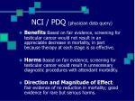 nci pdq physician data query