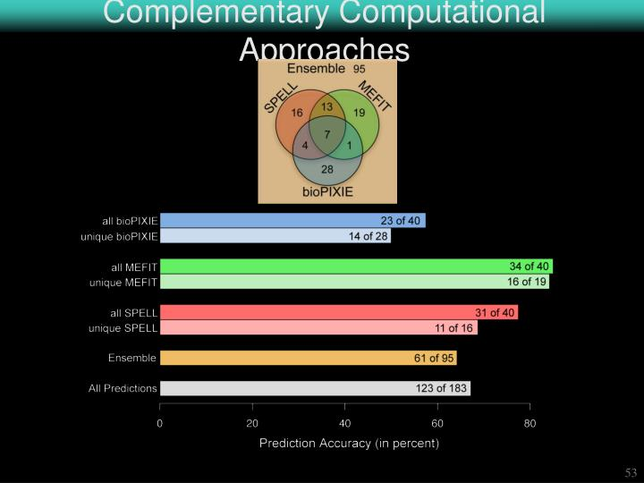 Complementary Computational Approaches