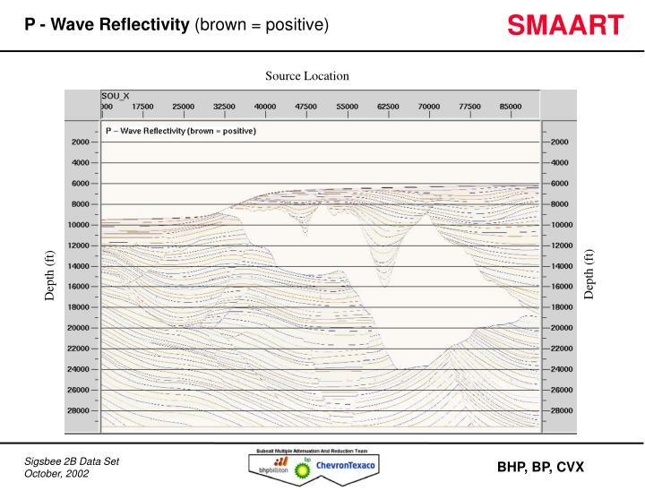 P - Wave Reflectivity