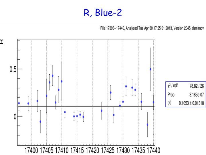 R, Blue-2