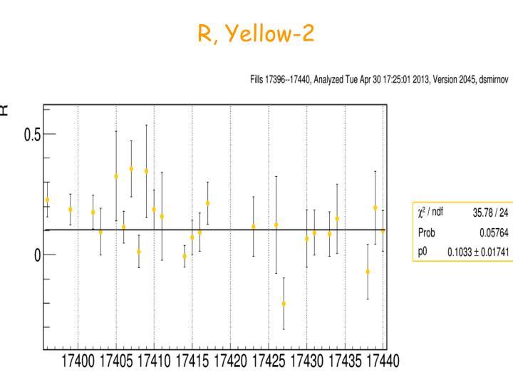 R, Yellow-2