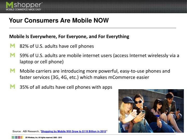Your Consumers Are Mobile NOW