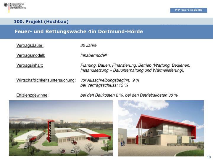 100. Projekt (Hochbau)