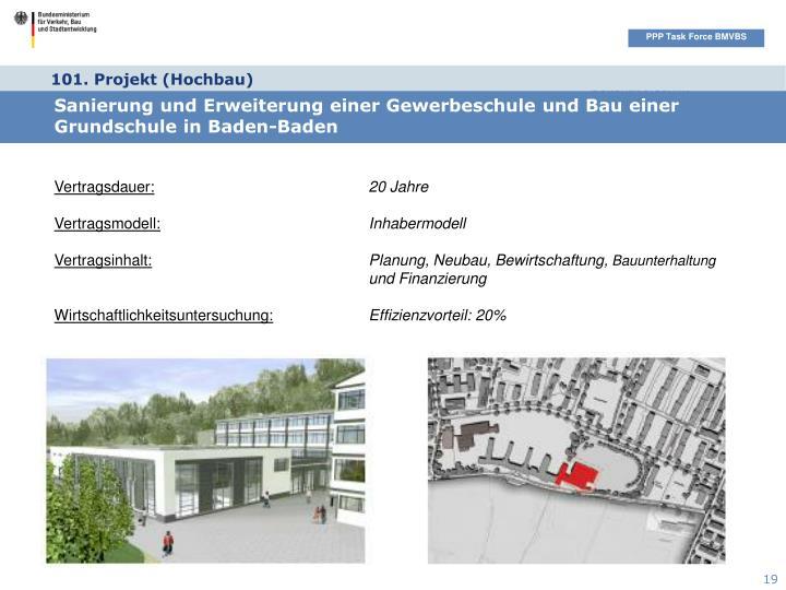 101. Projekt (Hochbau)
