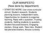 our manifesto now done by department1