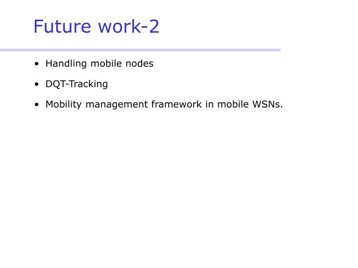Future work-2