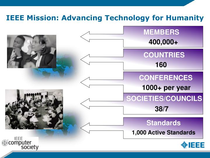 IEEE Mission: Advancing Technology for Humanity