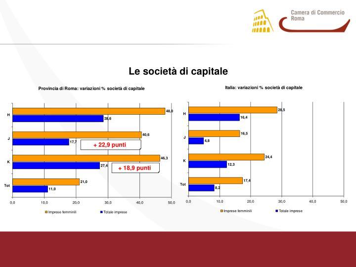 Le società di capitale