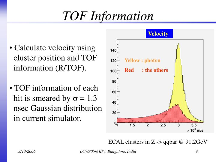 TOF Information